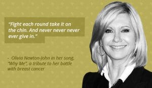 mind and cancer - Olivia Newton-John
