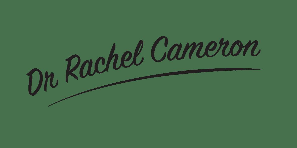 Dr Rachel Cameron Signature